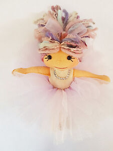 "Beautiful 10"" Ballerina Doll. Handmade in Canmore."