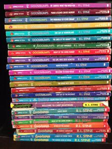 Goosebumps Book Lot