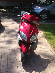 Red  2009 Geomax Original SL150 (Gas Scooter)