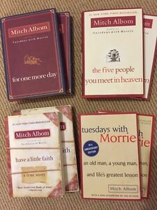 MITCH ALBOM books for sale...