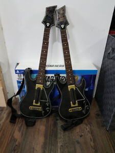 Guitar Hero Live PlayStation 4 PS4 with 2 guitars