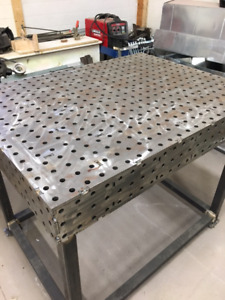 Professional welding table for sale