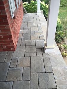 Booking for spring 2017 Handcrafted Interlocking Stone Projects  Cambridge Kitchener Area image 5
