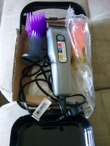 Conair numbered shaver in case