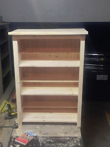 Wooden bookcase/ DVD stand unit