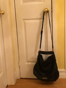 Authentic MARC BY MARC JACOBS New Q Hiller hobo in black