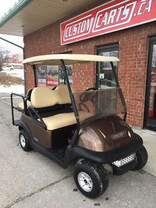 2009 CLUB CAR Precedent 48Volt Electric Golf Cart - Metallic Bod