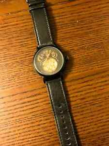 Xeric Xeriscope Automatic in all-black with black leather band Kitchener / Waterloo Kitchener Area image 1