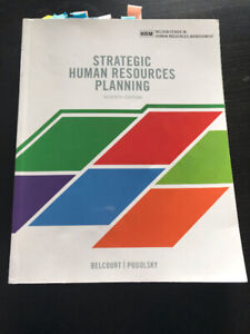 Strategic Human Resources Planning Textbook 7th Edition