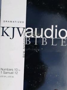 KJV audio Bible DVD