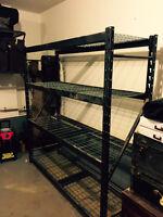 4-tier Heavy Duty Metal Shelf
