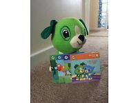 Leap pad read with me Scout dog