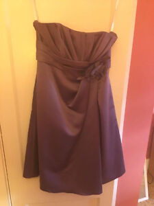 Alexia Size 6 Purple Bridesmaid Dress