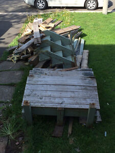 Wood for Free - from Patio