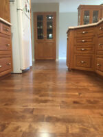 Professional Hardwood Floor Installation