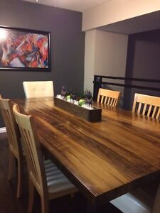 Solid Maple Harvest Dining Table London Ontario image 2