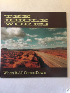 """THE ICICLE WORKS """"When It All Comes Down"""" Vinyl 12"""" Single"""