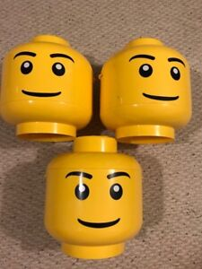 Lego sort and store heads - Complete good used condition!