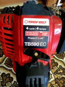 "Troy-Bilt (18"") 29cc 4-Cycle Straight Shaft String Trimmer/Brush"