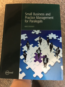 Small Business and Practice Management for Paralegals. Bromwich