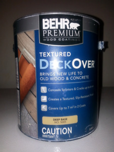 Paint BEHR wood & concrete 3.43L Gray colour