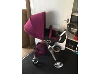 Stokke Xplory (explory) V4 newest edition in Purple