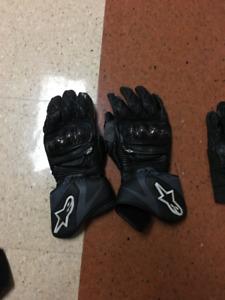 Alpinestar riding gloves