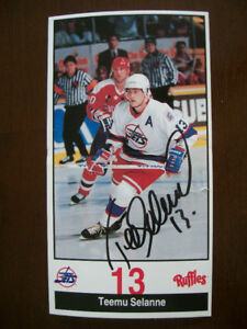 new arrival 28b57 1521e Teemu Selanne Winnipeg | Kijiji in Manitoba. - Buy, Sell ...