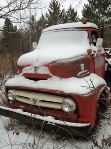 1953 FORD COE complete Cab Over Snub + 50's Pickup
