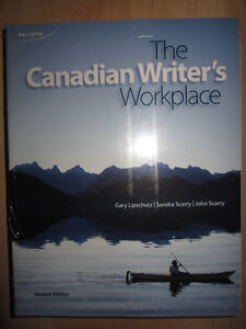 The Canadian Writer's Workplace 7th Edition (LIKE NEW) Kitchener / Waterloo Kitchener Area image 1