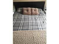 King size bed and mattress - good condition!