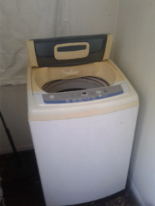 Stackable! Washer and dryer