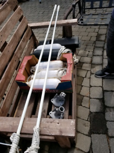 Mooring Whips Dock Edge(Bumpers Apart)