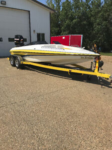 2007 HYDROSTREAM VOYAGER OPEN BOW 21'