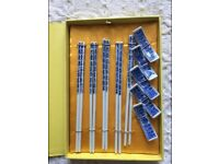 Chopsticks Set Box Used - very good quality