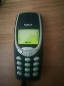 Original Nokia 3310 mobile phone.