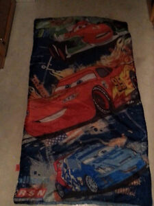 "Child's ""Cars"" Sleeping Bag for Sale!"