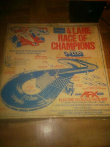 Willing to buy old Aurora Afx slot cars sets parts collections