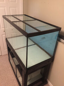 120 Gallon Aquarium with Canister Filters and much more