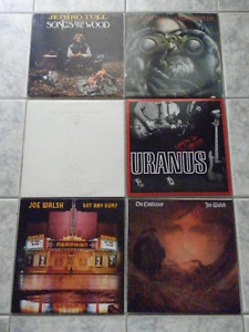 ROCK / POP VINYL LP RECORDS FOR SALE (LIST #2)