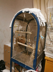 Free large bird cage (claimed - pending collection)