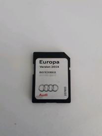 Audi 2014 satnav sd card