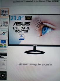 Asus 24 inch ultra slim hdmi monitor