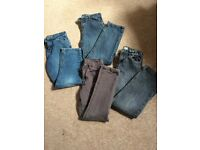 4 pairs of boys jeans to fit 9-10 years