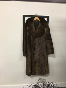 Beaver and Wolf Fur Coats