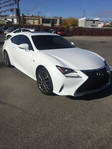 2015 Lexus RC350 AWD F-Sport  Series 2