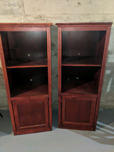 Wooden wall unit