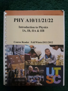 *NEW, UNUSED* Introduction to Physics Course Reader Lab Manual