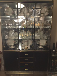 China Cabinet and Dining Room Set