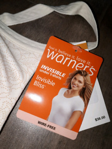 Warner's Bra NEW 36A Invisible under t-shirt